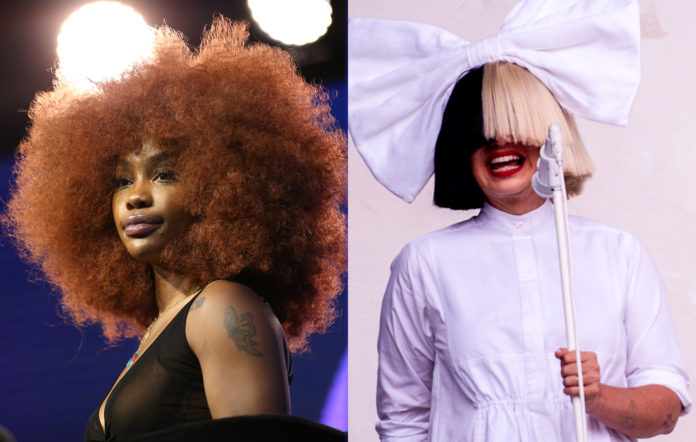 SZA, Sia wrote three songs togther