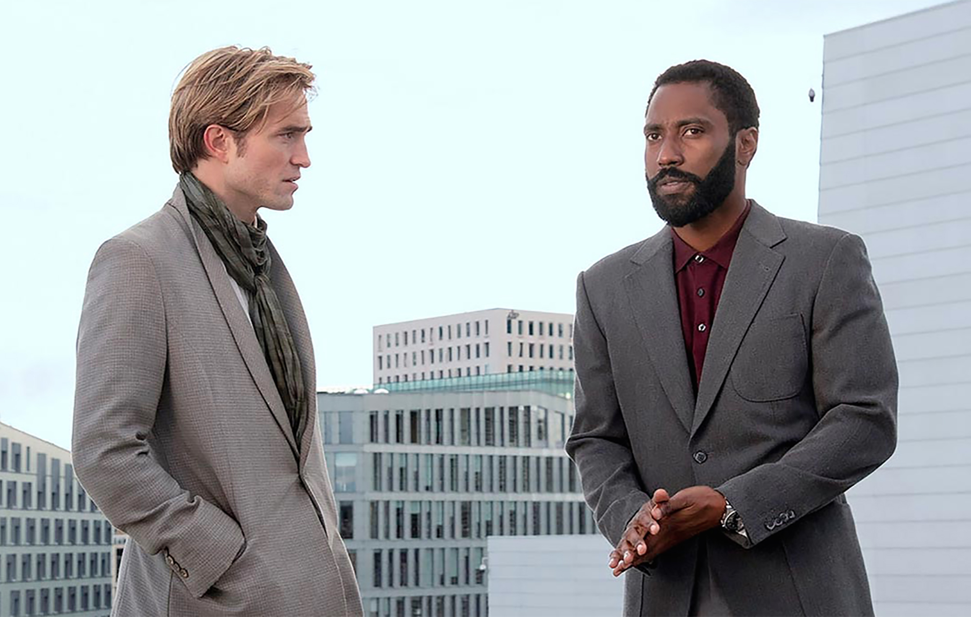 Tenet Christopher Nolan Robert Pattinson John David Washington