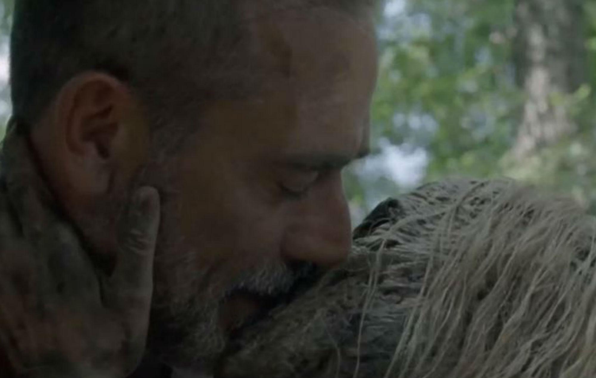'The Walking Dead': Jeffrey Dean Morgan's wife reacts to his character's strange sex scene