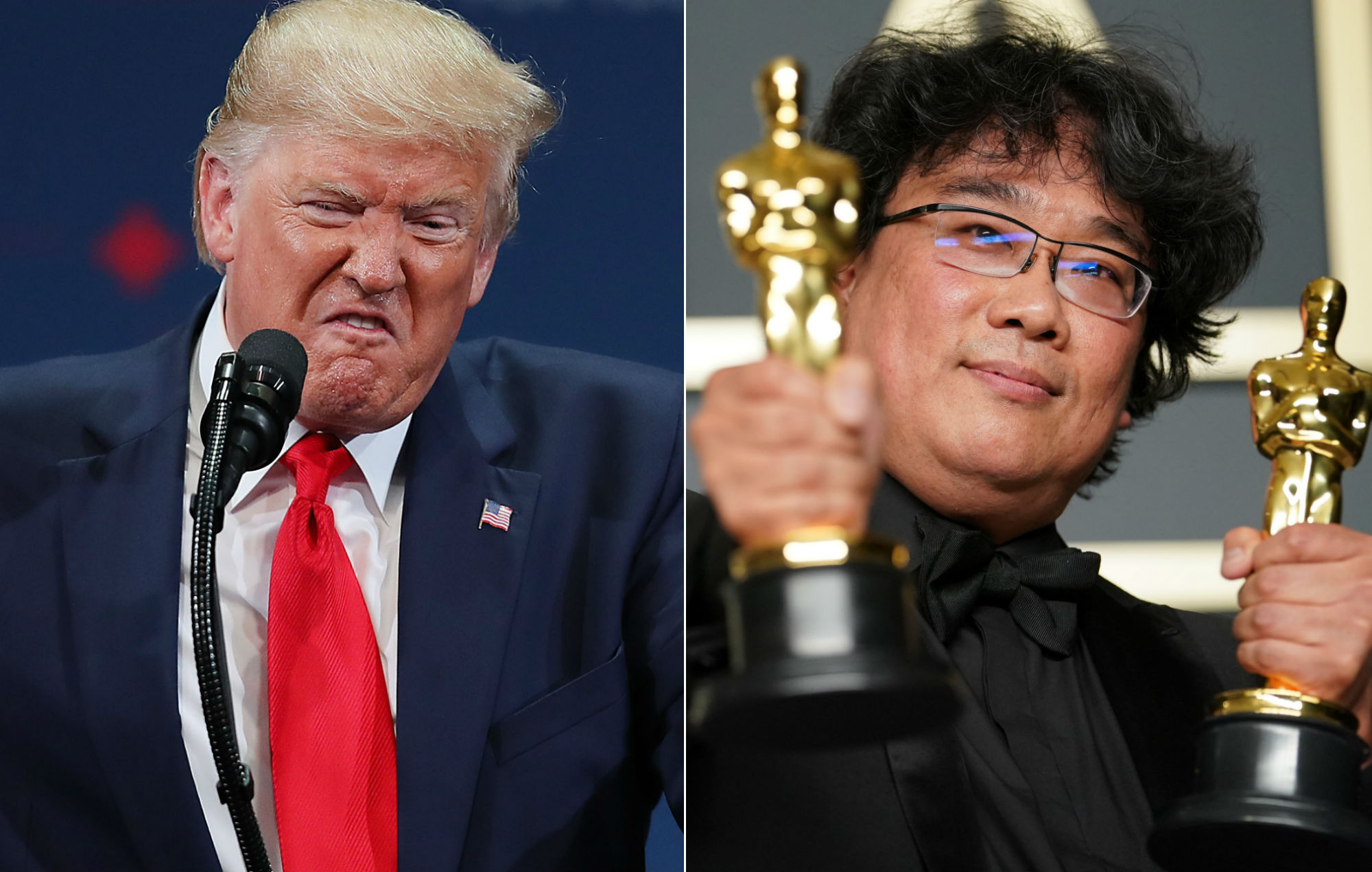 Parasite Distributors Respond To Donald Trump S Criticism Of Oscars Win