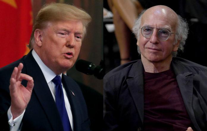 Donald Trump / Larry David