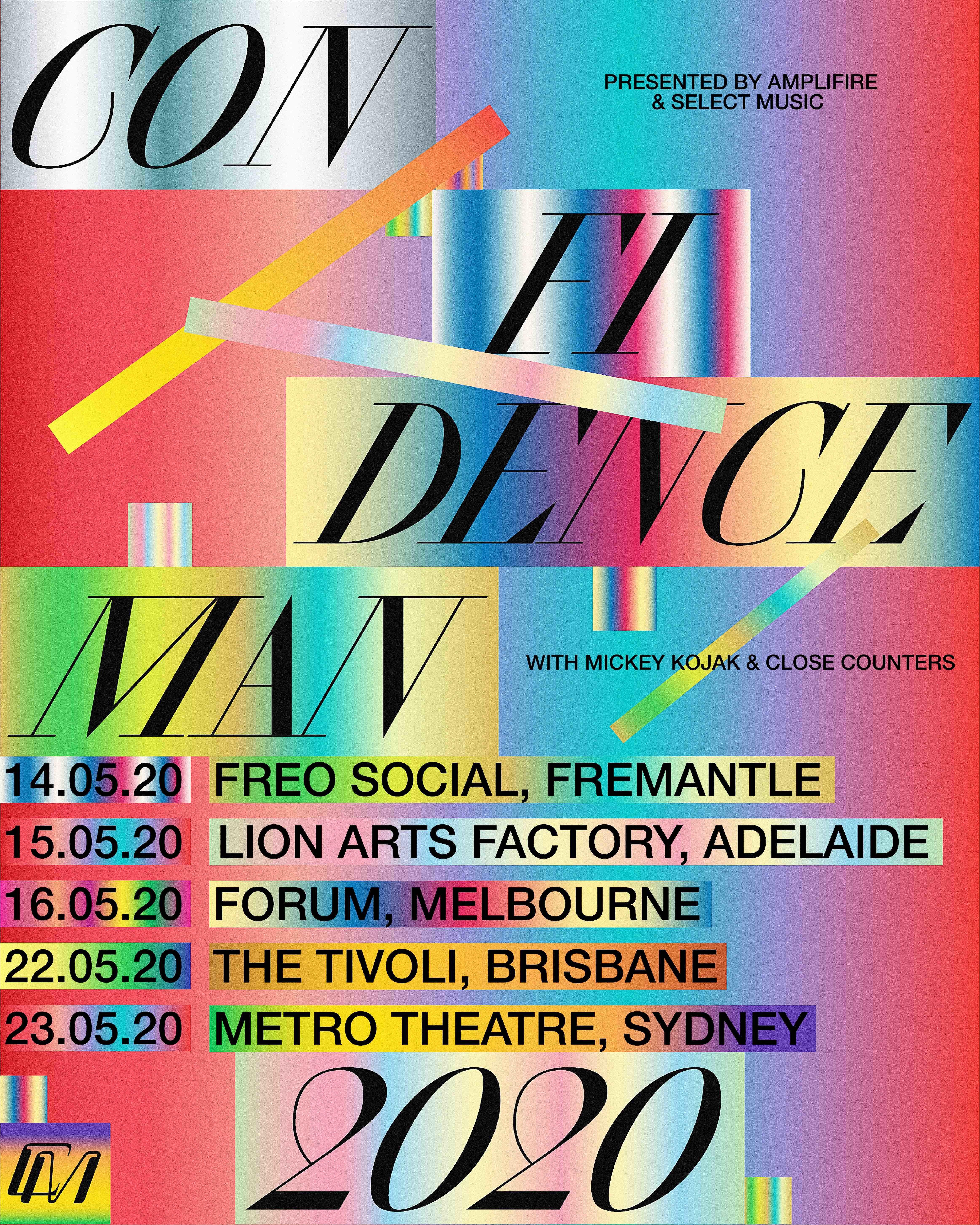 Confidence Man announce Australian tour