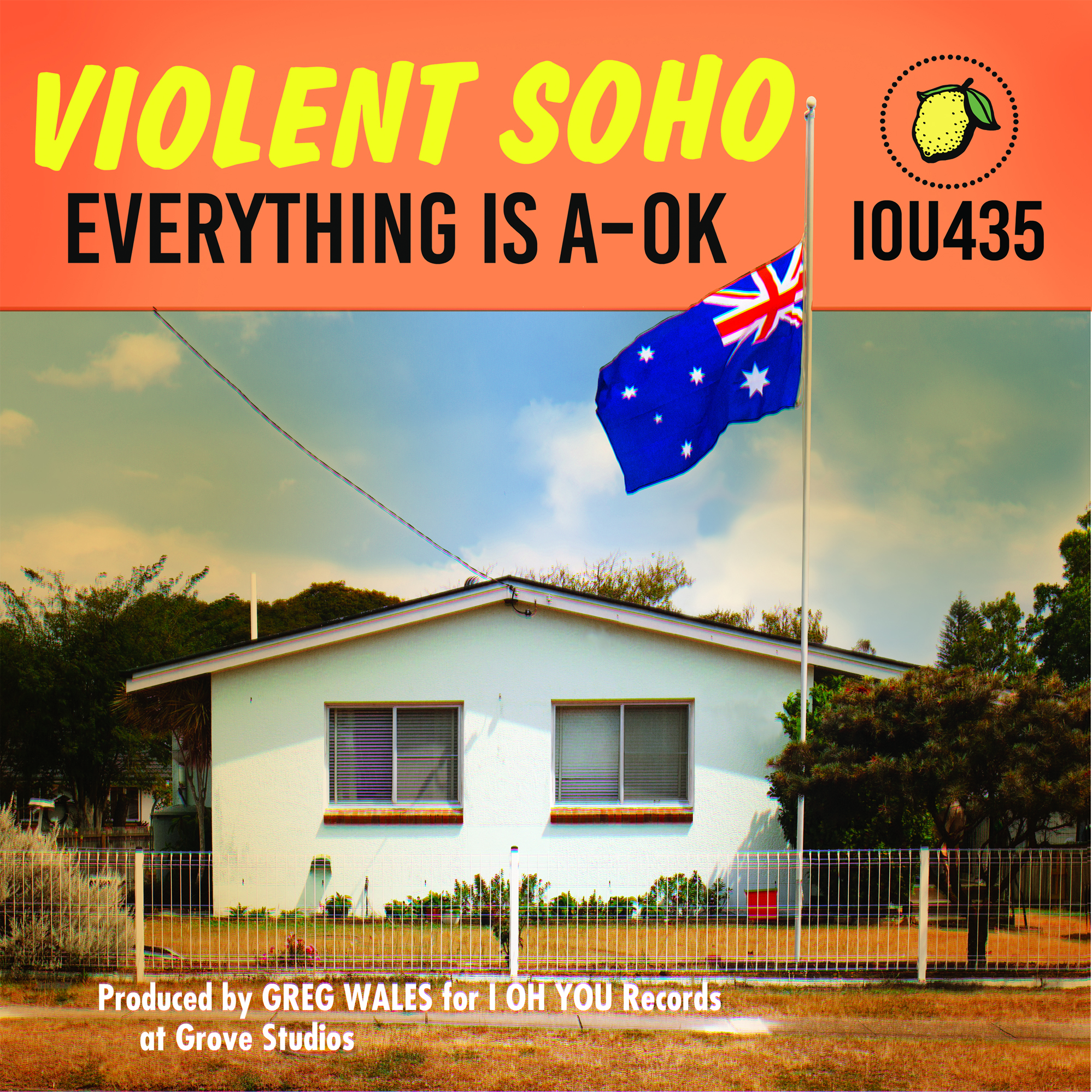 Violent Soho Everything Is A-Ok new album art