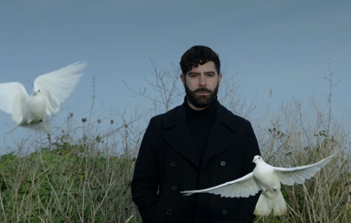 Yannis Philippakis of Foals in the music video for 'Neptune'