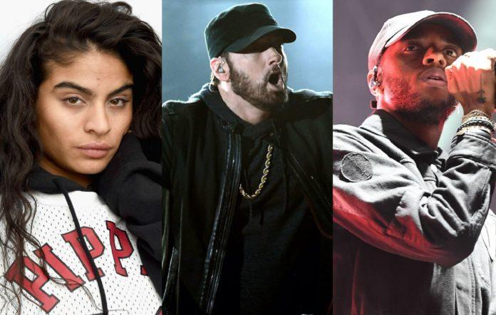 Reyez, Eminem and 6Lack