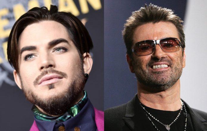 George Michael and Adam Lambert