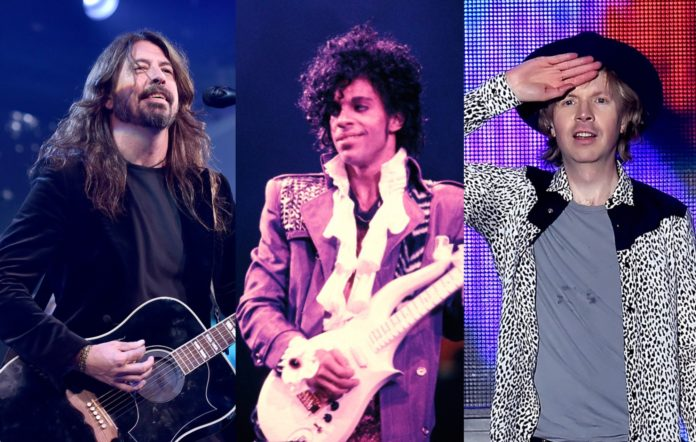 Dave Grohl Prince Beck