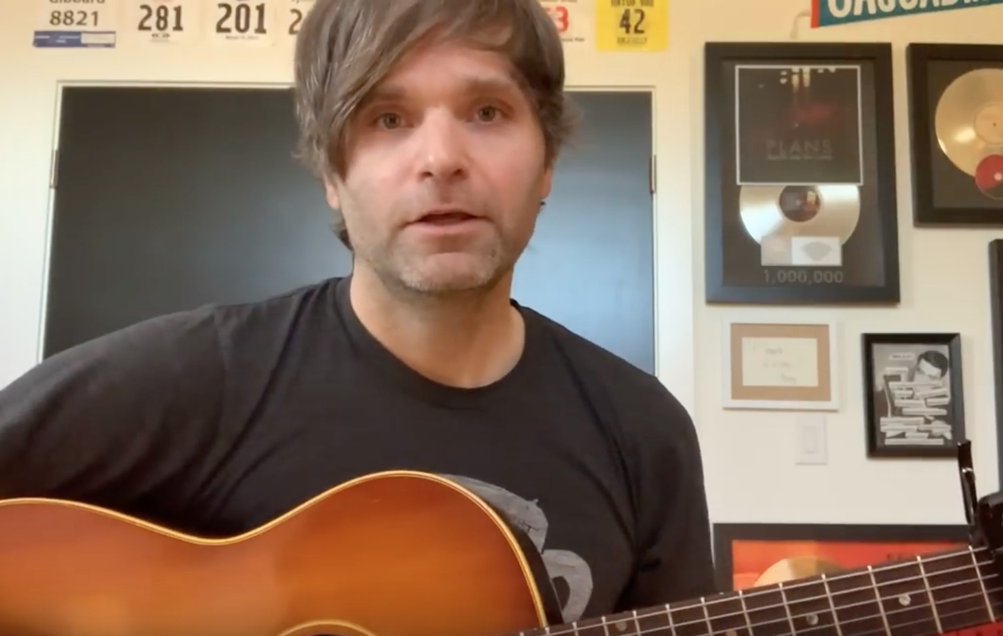 Watch Death Cab For Cutie's Ben Gibbard share new song 'Life in Quarantine' - EpicNews