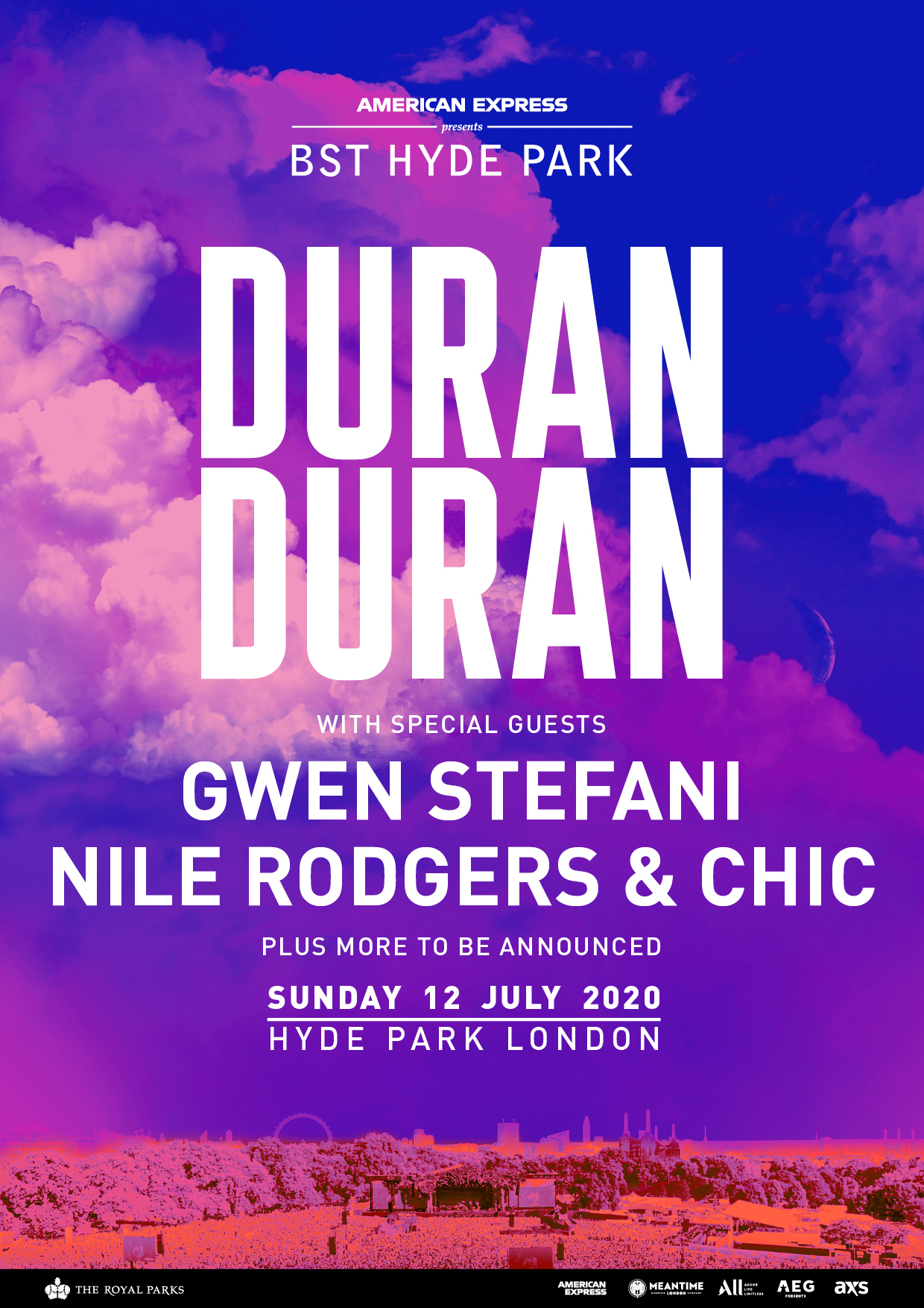 Duran Duran at BST Hyde Park 2020