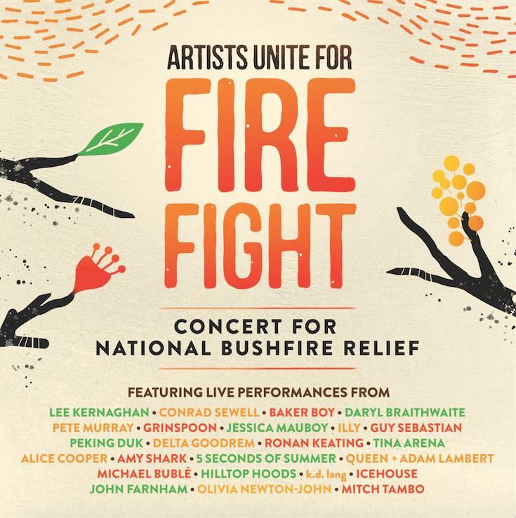 Fire Fight Australia Album Cover