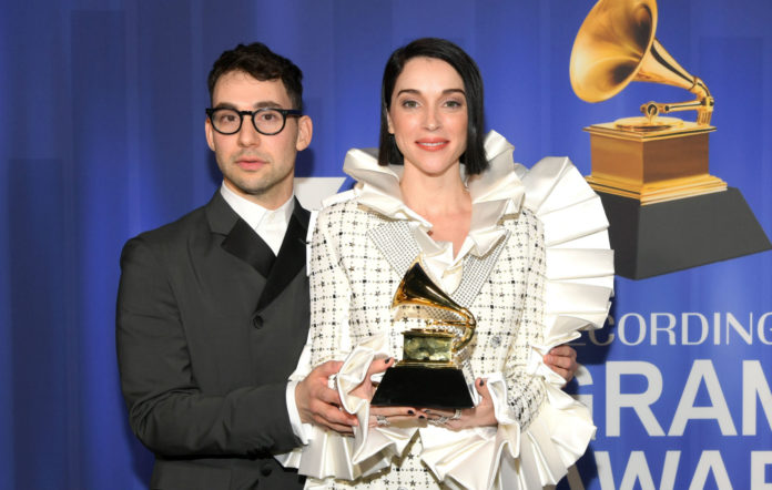 Jack Antonoff and St. Vincent