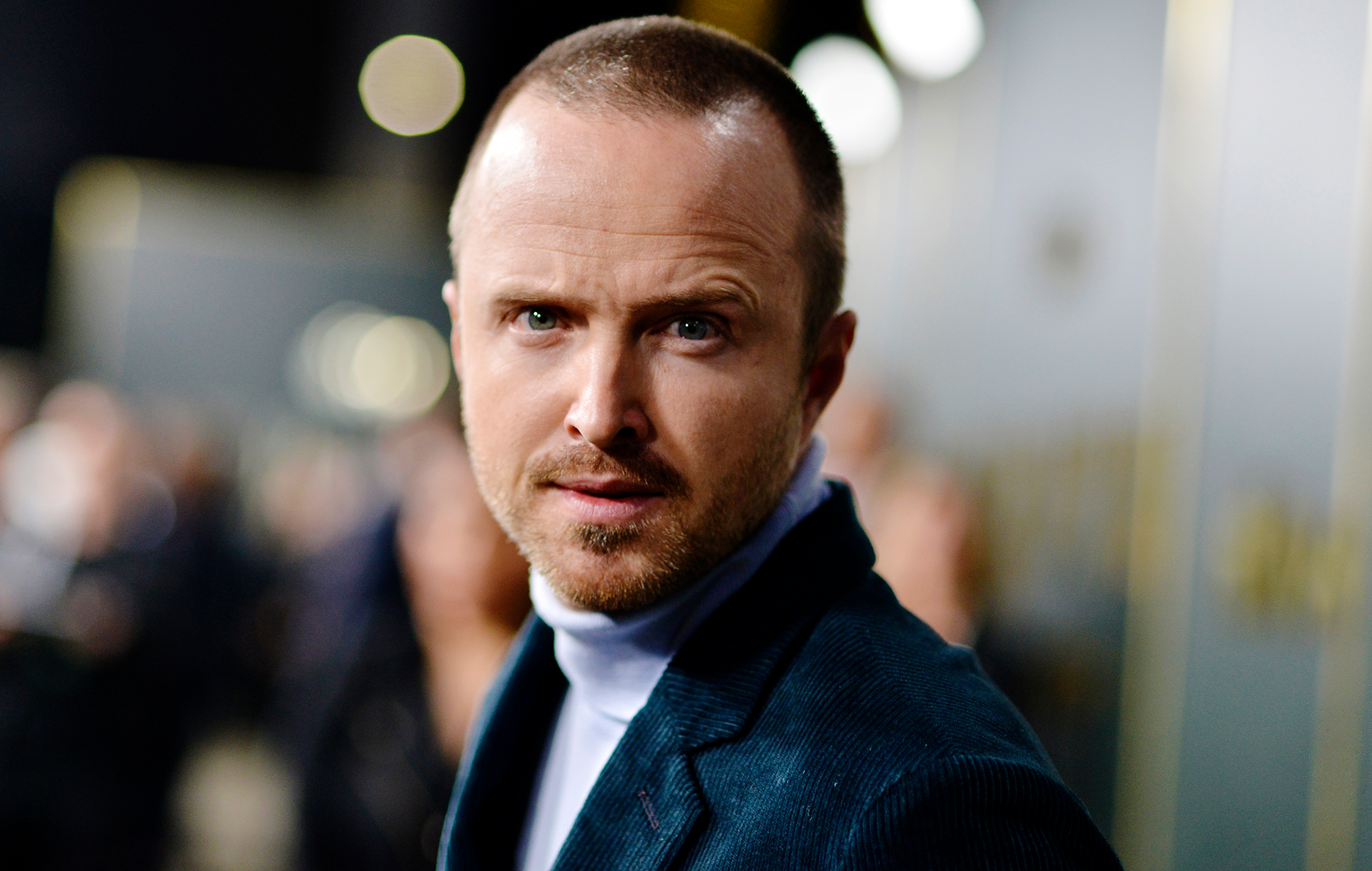 "Aaron Paul: ""I thought about playing Kurt Cobain in a Nirvana biopic"""