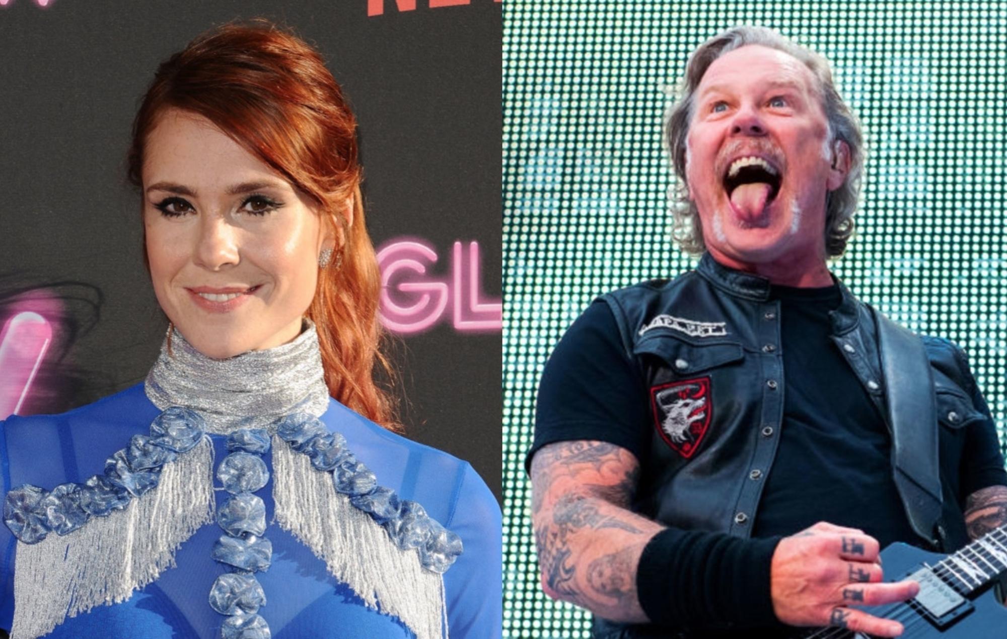 Watch Kate Nash play Metallica's 'Enter Sandman' on a penny whistle - EpicNews