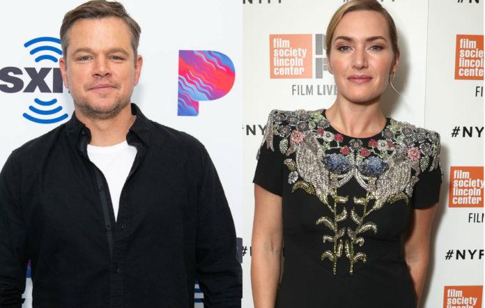 Matt Damon and Kate Winslet