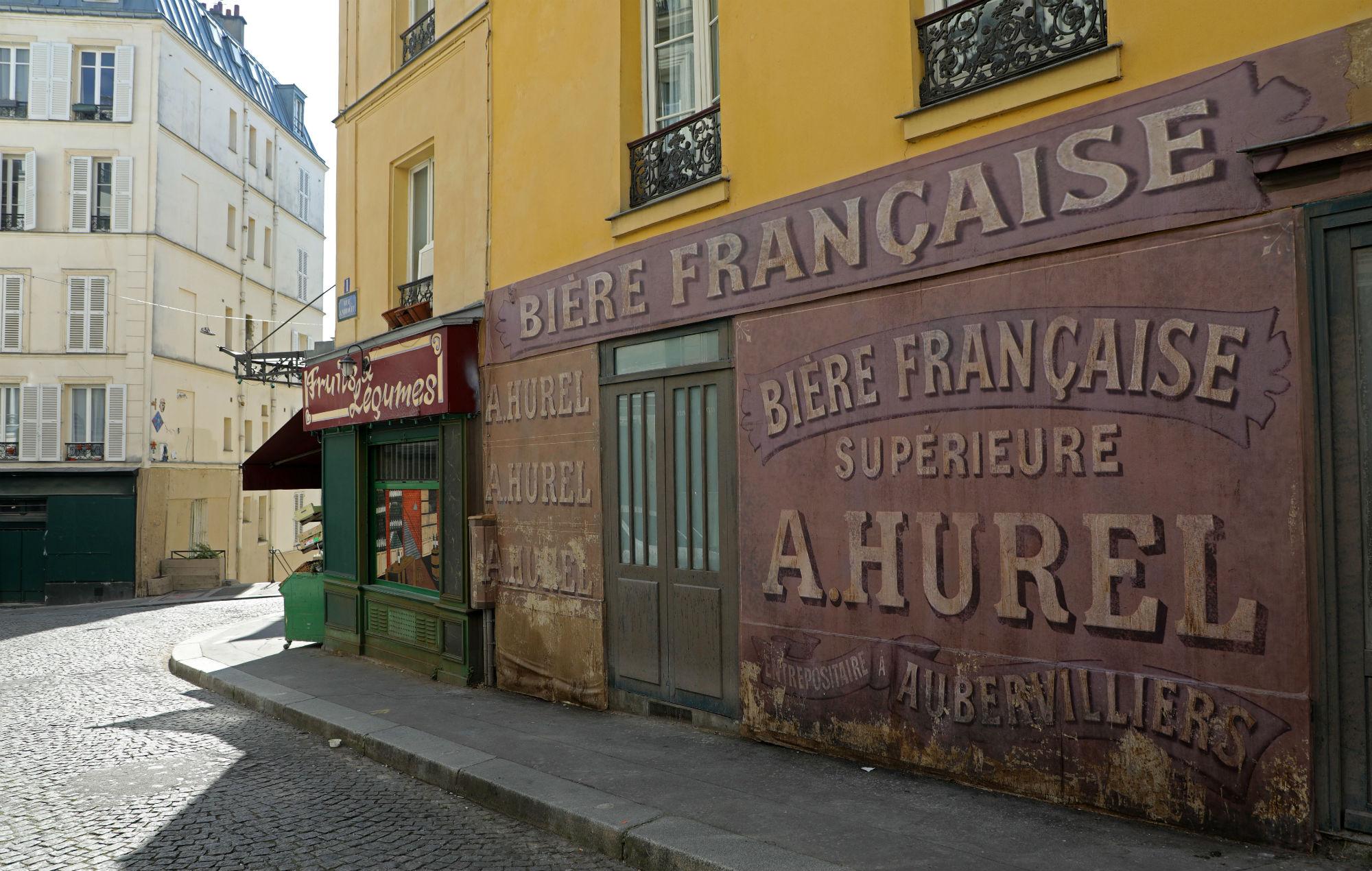 Coronavirus: streets stuck in Nazi-occupied Paris as 1942 set abandoned
