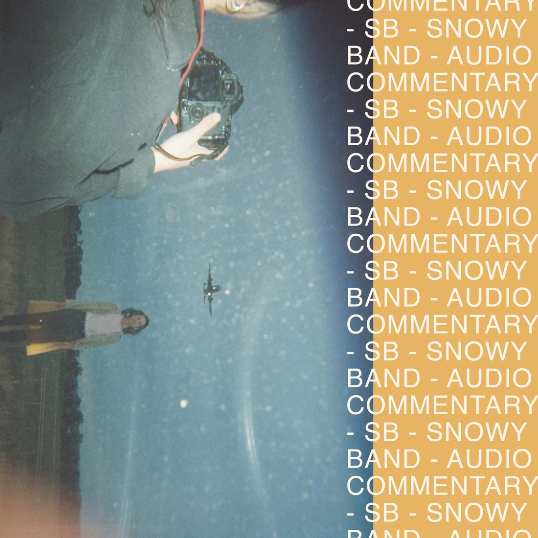 Snowy Band's 'Audio Commentary' album cover