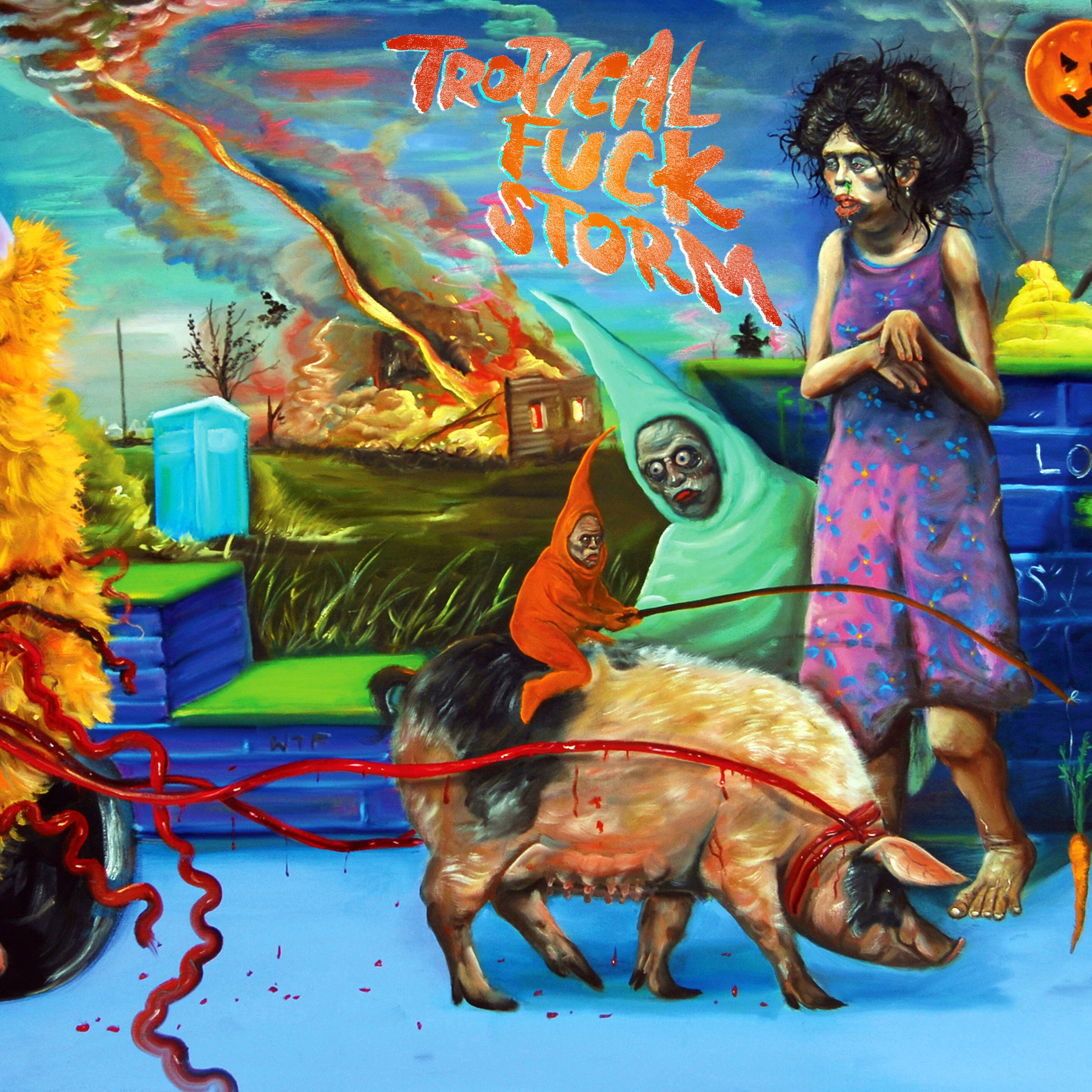 Tropical Fuck Storm Suburbiopia Album Art