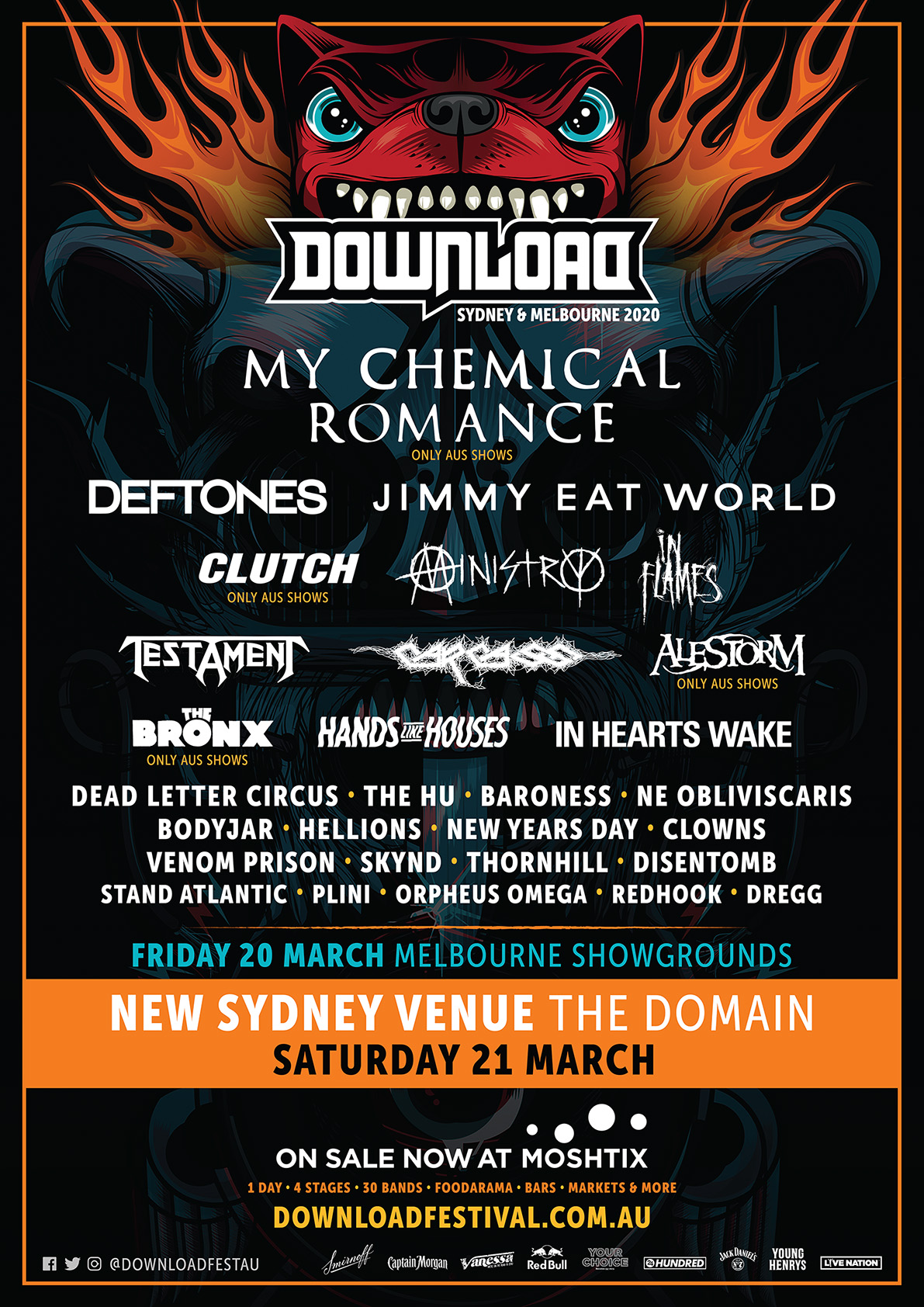 Download Festival Australia 2020 Dates Cities Lineup Tickets And More
