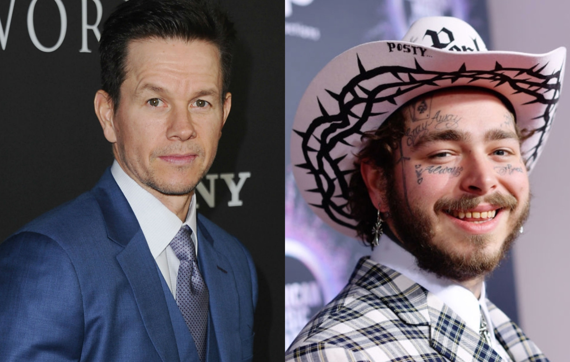 Mark Wahlberg Tried To Warn Post Malone He D Regret His Face Tattoos