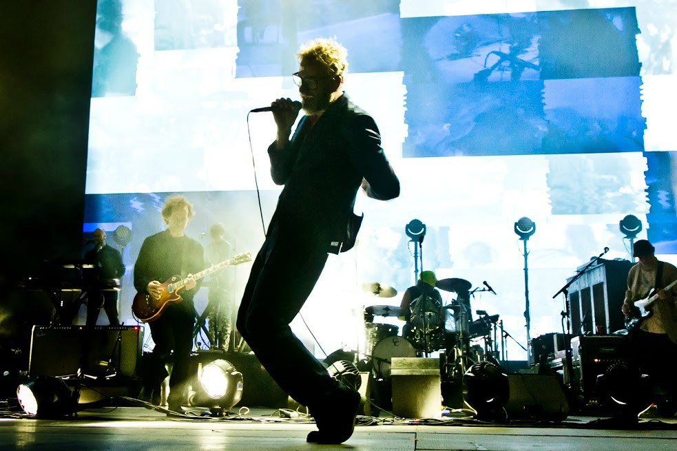 The National on stage at Primavera Sound 2018.
