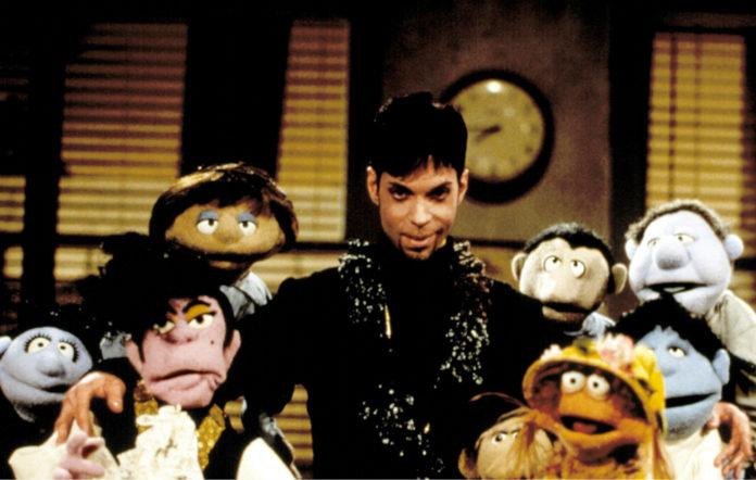 Prince on 'Muppets Tonight'