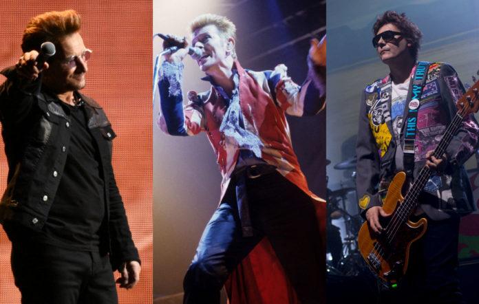 U2 / David Bowie / Manic Street Preachers