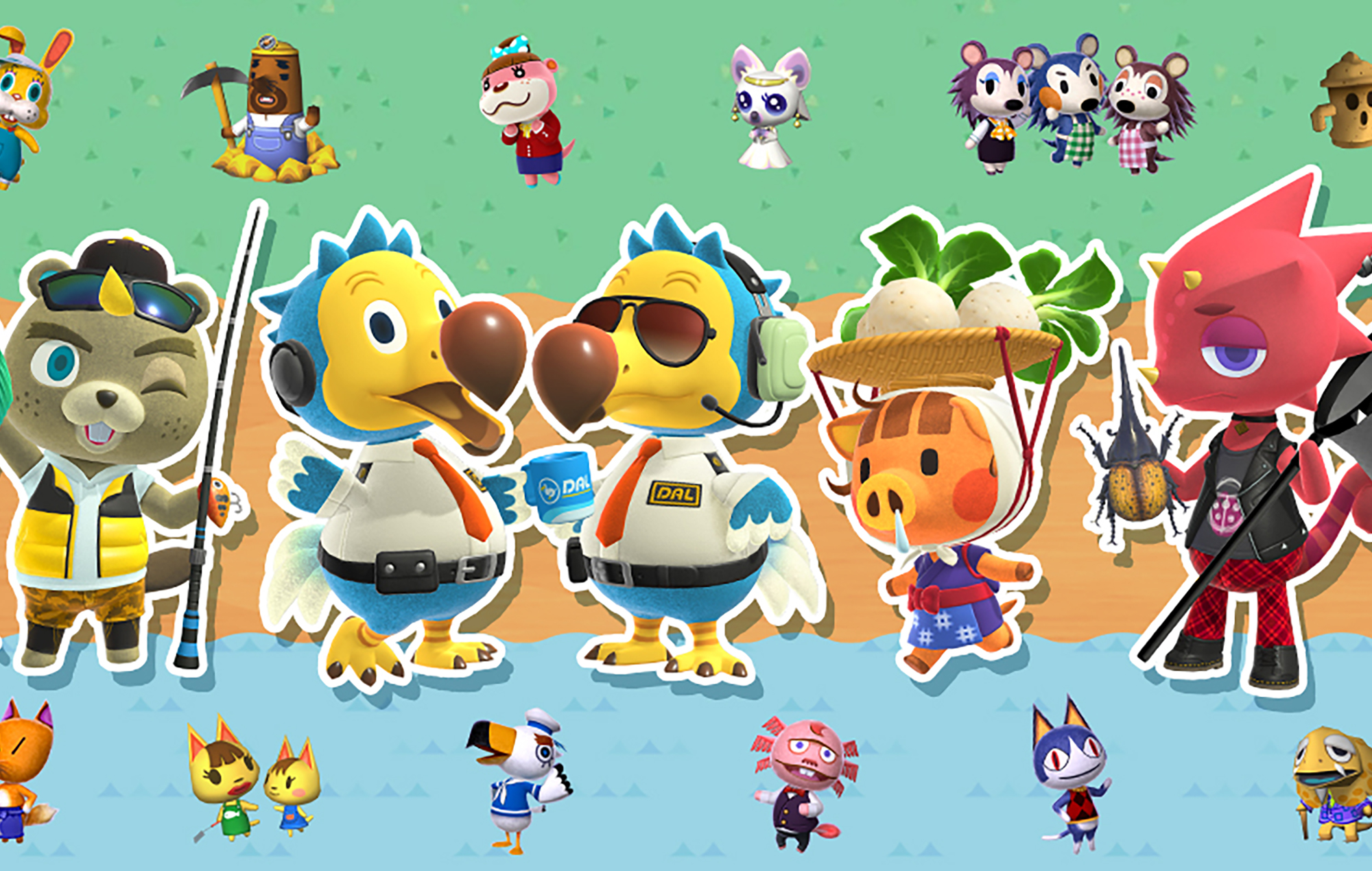 Animal Crossing New Horizons Characters Are Headed To Smash