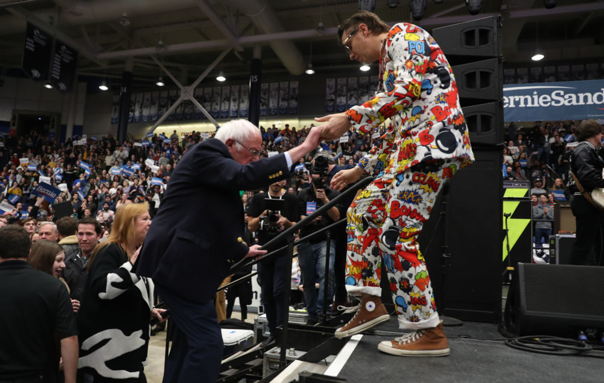 Bernie and Julian