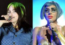 Billie Eilish and Lady Gaga