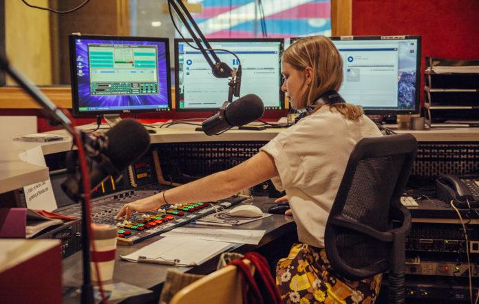An FBi Radio studio