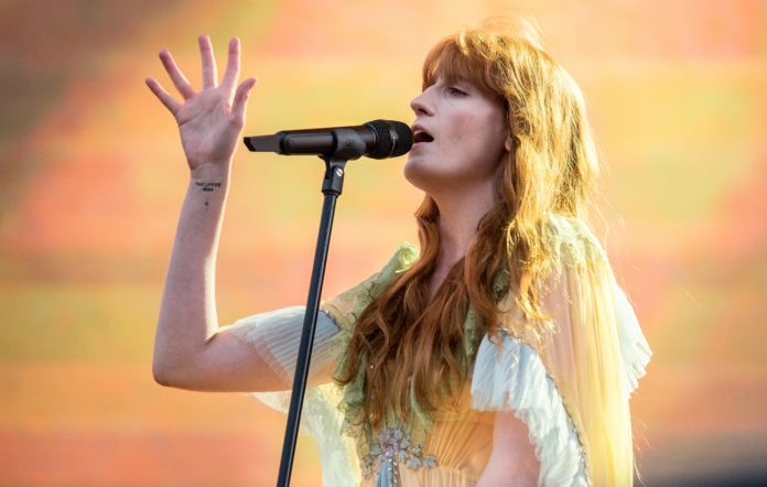 Florence + The Machine lockdown performance