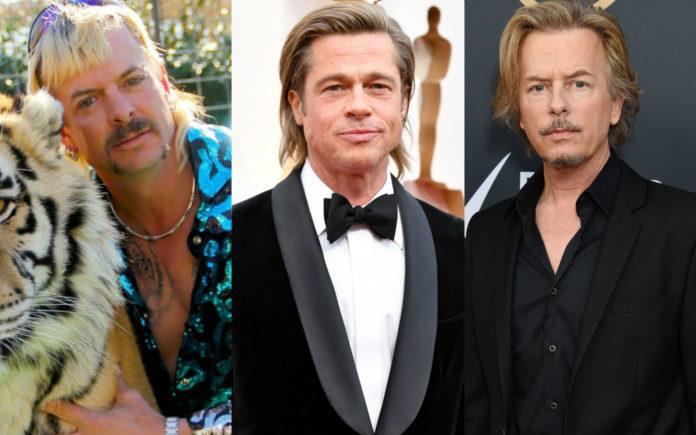 Joe Exotic Brad Pitt David Spade Netflix