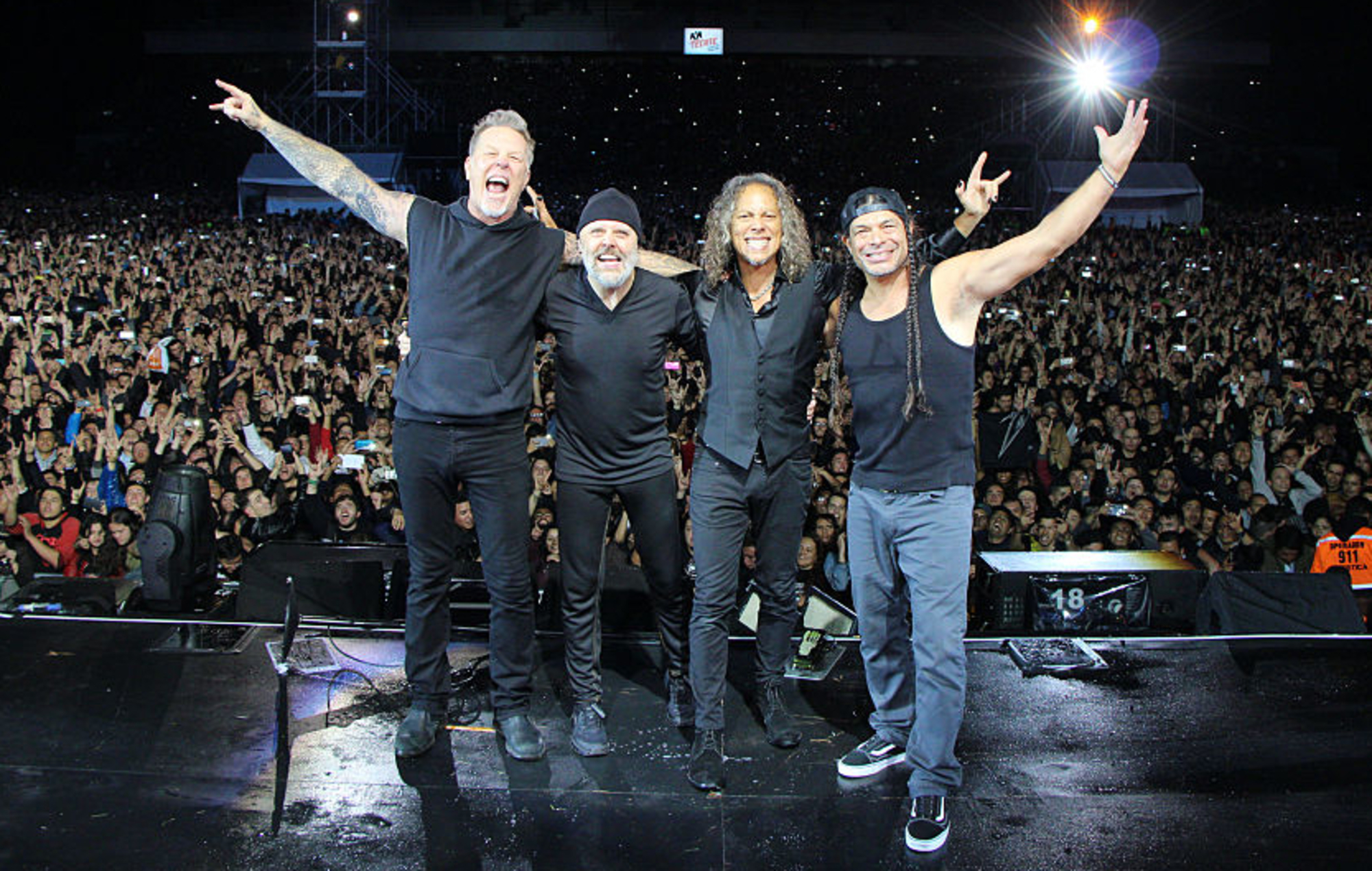 Watch Metallica's rain-soaked 2019 Manchester show in full for ...