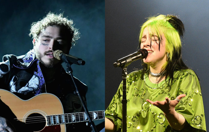 Post Malone and Billie Eilish nominated for Webby Awards 2020