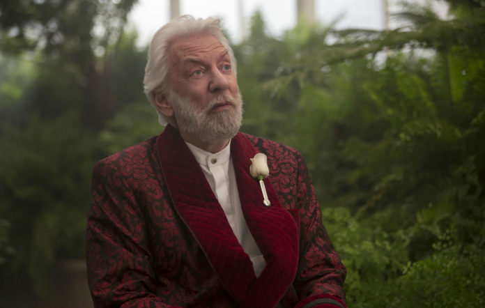President Snow in 'The Hunger Games'