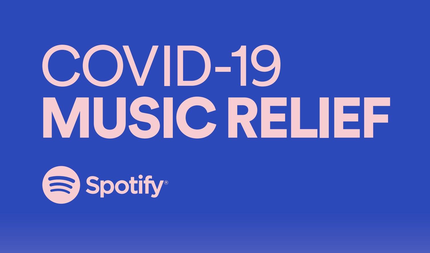 Spotify COVID-19 Music Relief Logo
