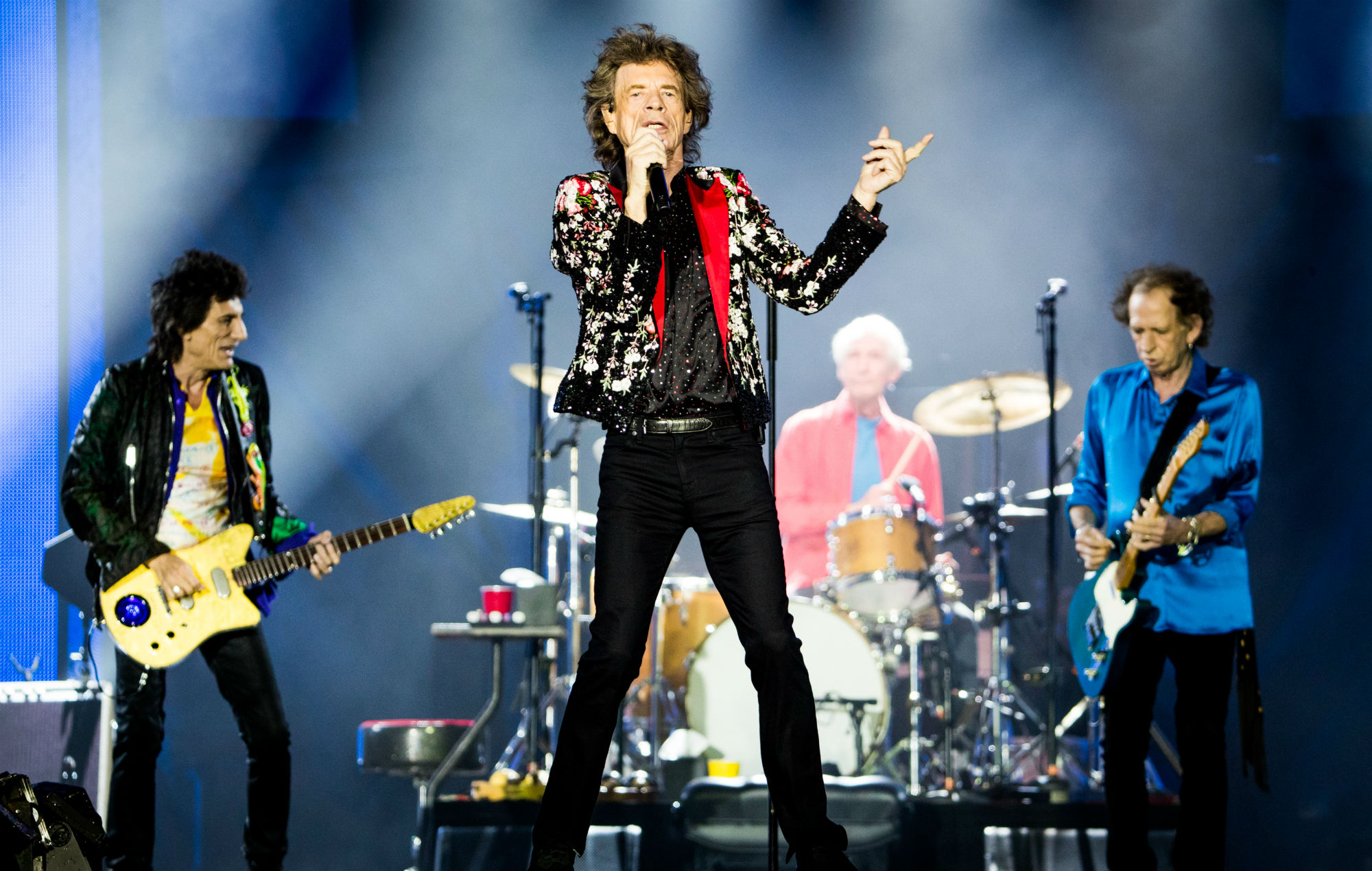 The Rolling Stones' new song 'Living In A Ghost Town' – the NME ...