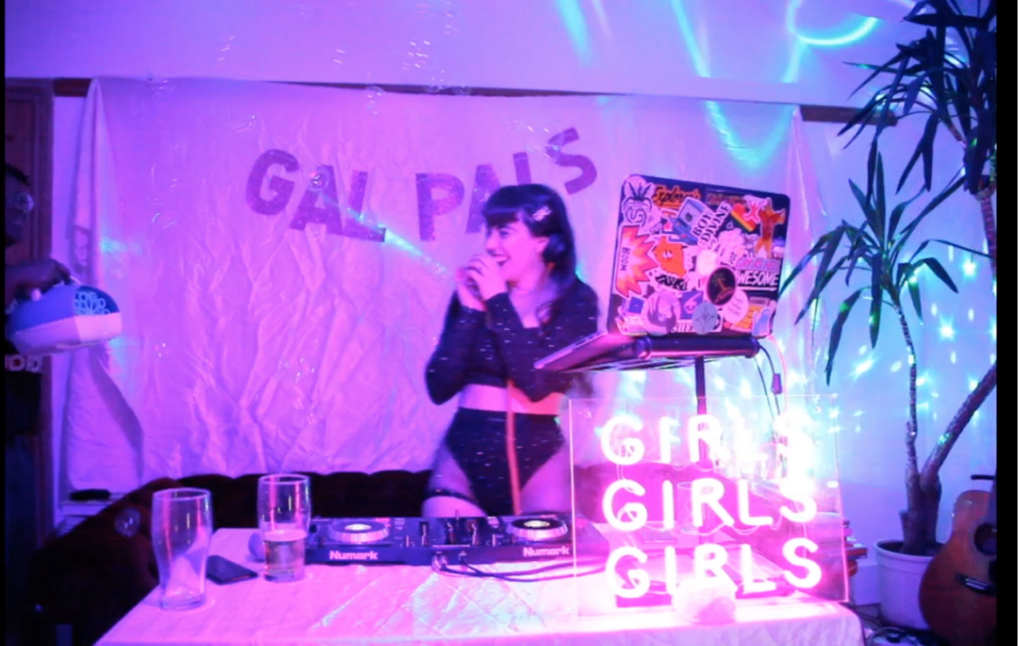 Gal Pals have also been hosting virtual dance parties