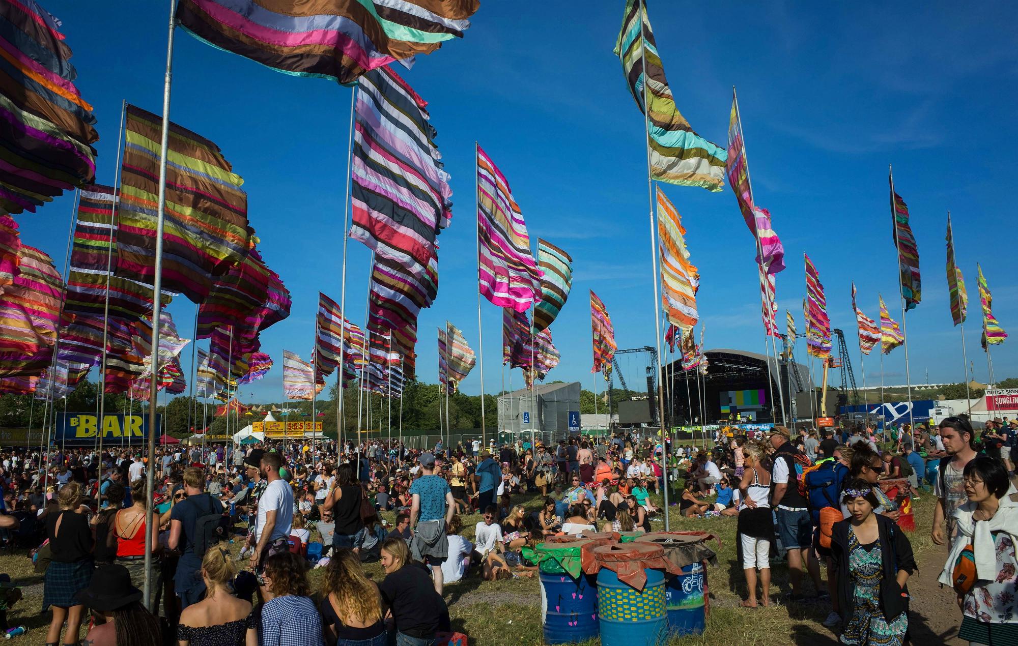 West Holts Stage Glastonbury playlist