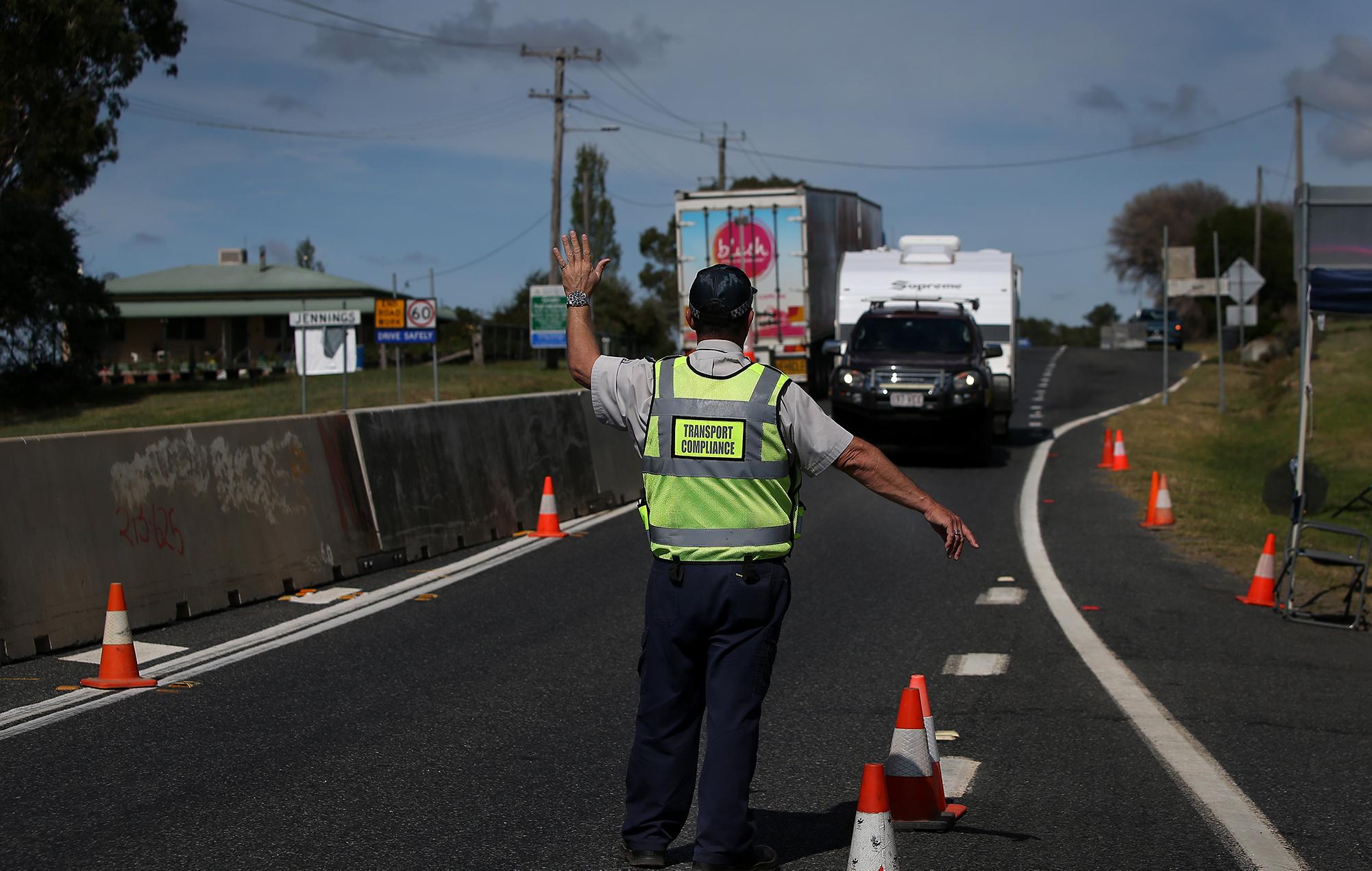 australia closes state borders coronavirus