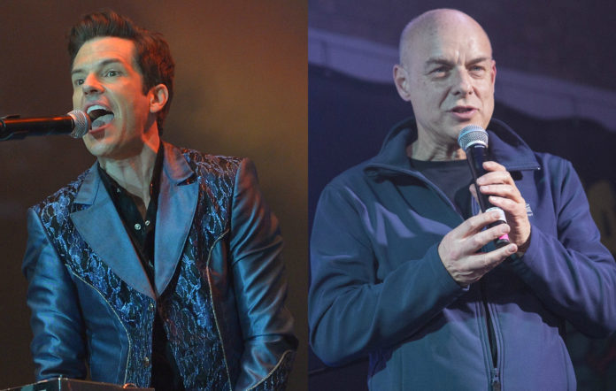 Brandon Flowers, Brian Eno, The Killers