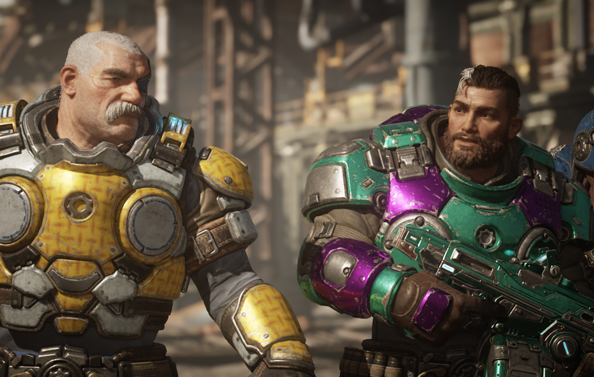 Gears Tactics Woody and Buzz