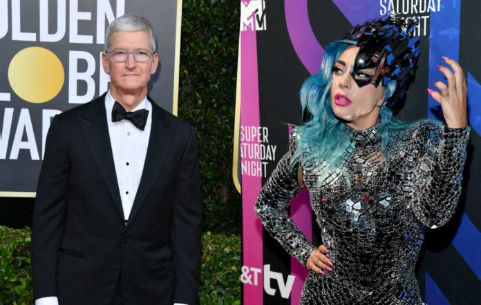 Tim Cook / Lady Gaga