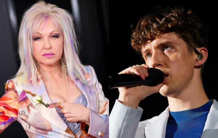 Cyndi Lauper Troye Sivan Stonewall Gives Back livestream