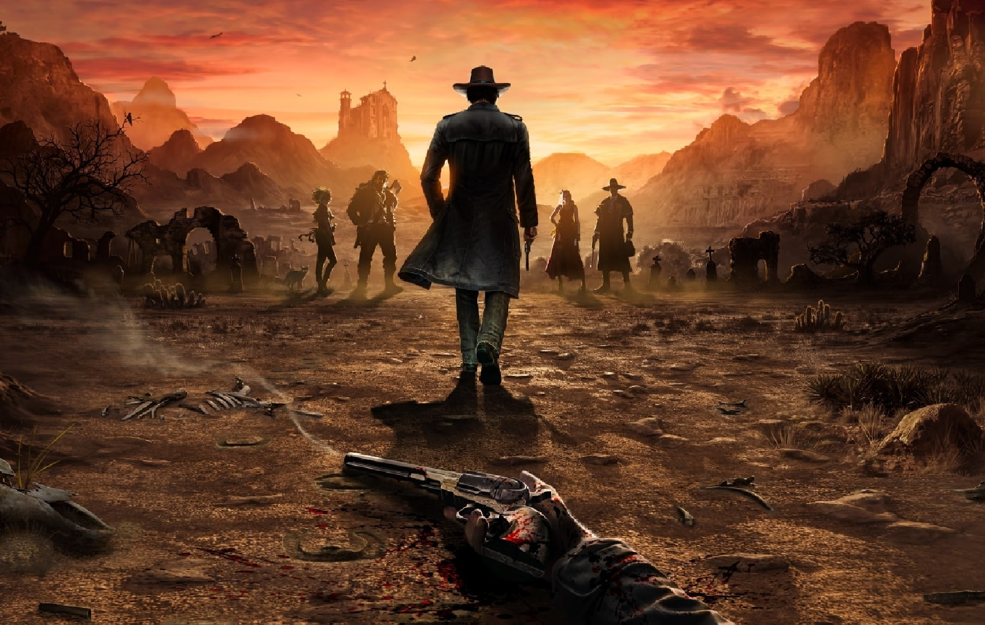 Thq Nordic Unveils Three Post Launch Dlcs For Desperados Iii