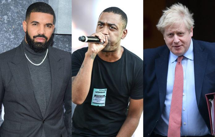 Drake, Wiley, Boris Johnson