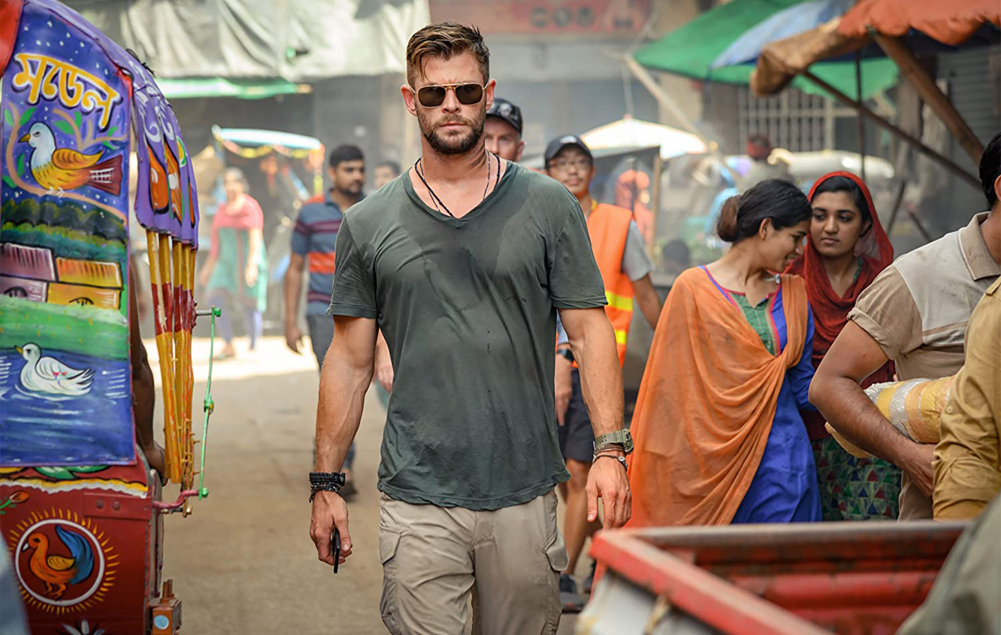 Chris Hemsworth Netflix Extraction