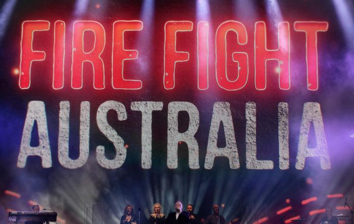 fire fight australia bushfire relief concert