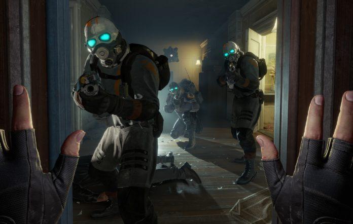 Half Life Alyx non-VR mod