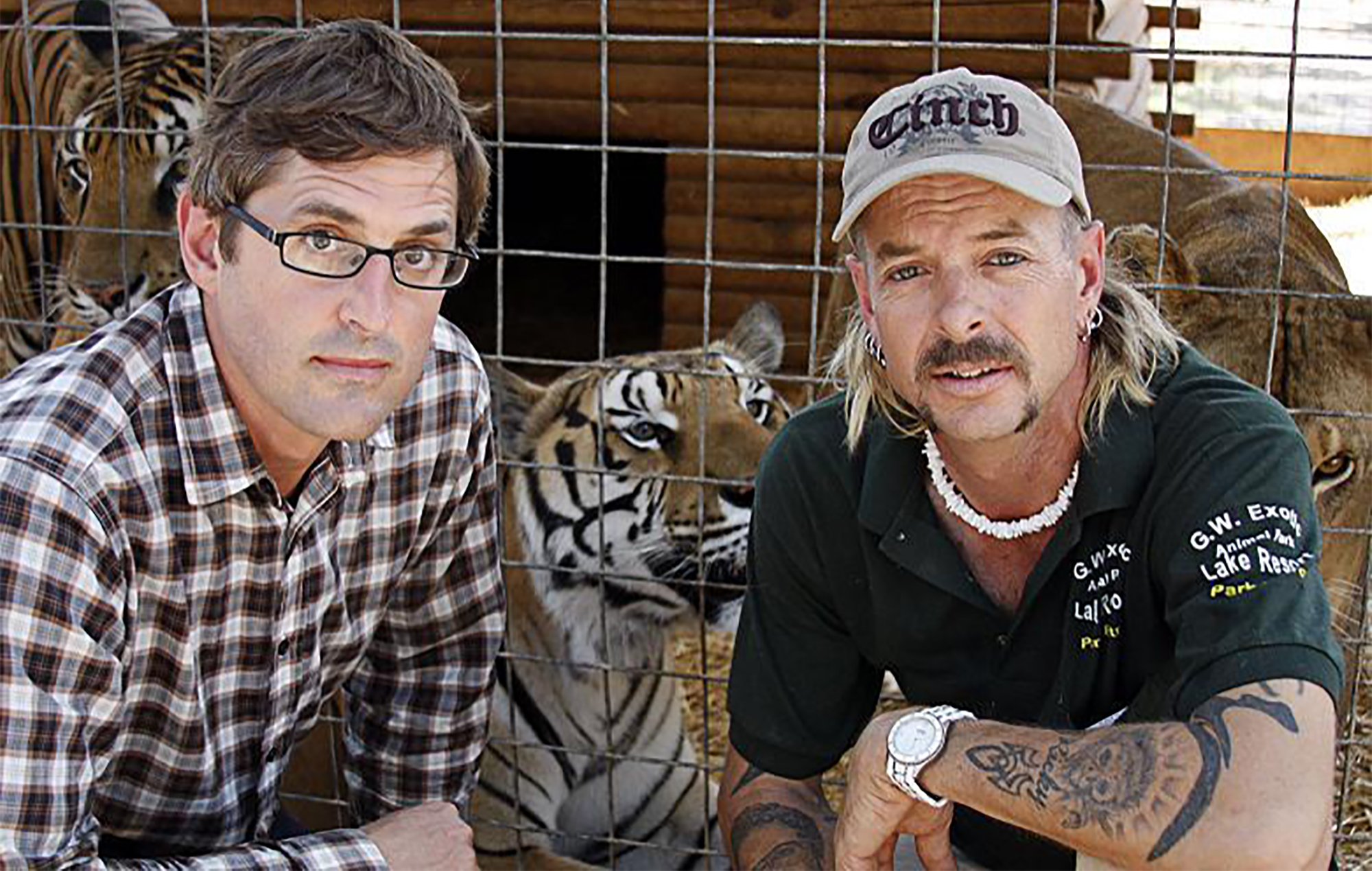 Louis Theroux Tiger King Joe Exotic